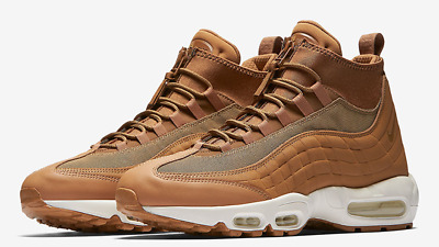 size 40 b4dd3 2f729 NIKE AIR MAX 95 SNEAKER BOOT FLAX 44 qs 90 yeezy lunar force trainer  uptempo lab