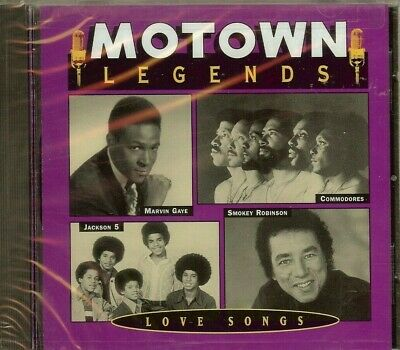 Motown Legends - Love Songs - Various Artists - Cd - New - Sealed