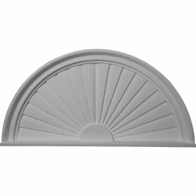 Ekena Millwork PED36X18X02SB Pediment Factory Primed White