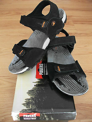 Leather men sandals by PAVERS