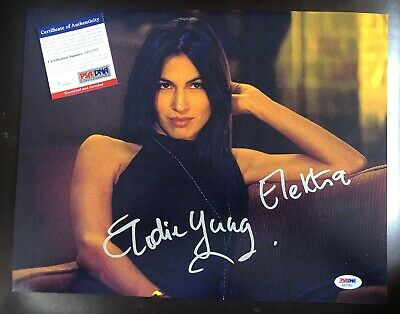 Autographs-original Elodie Yung Hand Signed 8x10 Photo Sexy Actress Autographed Daredevil Electra
