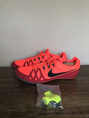 the best attitude 4c181 84169 Nike Zoom Rival M 8 Multi Use Track Spikes Orange Red 806555 614 Size Mens  10.5
