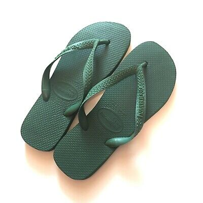 32bad4eb9 HAVAIANAS flip flop women s sandals green size 37 38 (US 7  8)