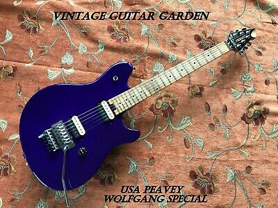 Late 1990's USA Peavey Wolfgang Special, Floyd Rose Model, Purple Relic, D-Tuna