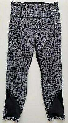 2cac8f44ab934e MENS SIZE 6 Lululemon Wunder Under herringbone gray yoga tights ...