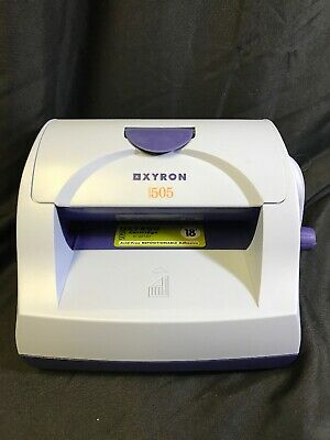 XYRON 505 Sticker Maker Laminator With Cartridge KG WS18