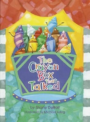 NEW The Crayon Box That Talked By Shane Derolf Hardcover Free Shipping