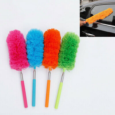 Dusting  House Cleaning Extendable  Soft Microfiber Telescopic Duster Brush