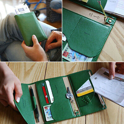 Travel Bag Blocking Wallet Purse Document Organiser Passport Tickets Id Holder