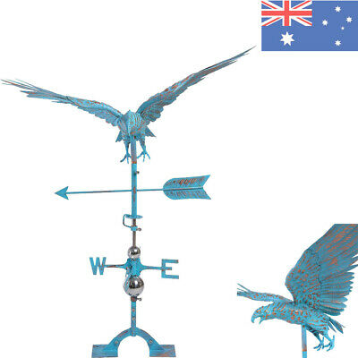 3D Eagle Weathervane Antique Copper Finished Weather Vane Outdoor Hand Crafted