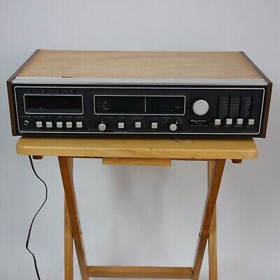 Magnavox IV9073 AM/FM 8 Track Play Record Reciever Tested
