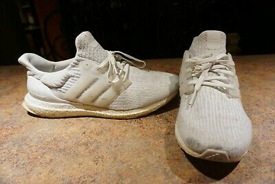 aaaae8f44fe Adidas Ultra Boost 3.0 caged. Triple White size 13 mens. Great Condition.