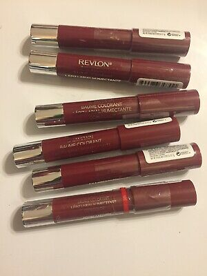 6-Revlon Balm Stain Lip Color #055 Adore Factory Sealed 💄. Lot Of 6