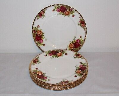 Royal Albert Old Country Roses 7-inch Dessert Plate - Set of 6