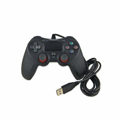 USB Wired Gamepad For Playstation For Sony PS4 Controller Joystick Contro WM