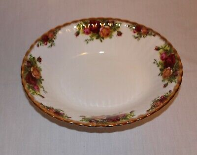 "Royal Albert Old Country Roses 9"" Oval Serving Bowl"