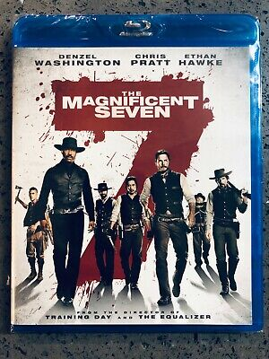 The Magnificent Seven (Blu-ray + Digital 2016) New