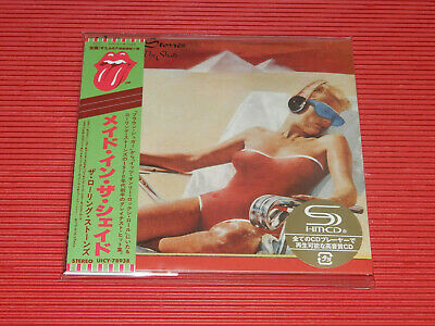 2019 ROLLING STONES Made In The Shade   JAPAN MINI LP SHM CD