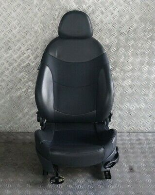 *BMW Mini Cooper One R50 Fabric / Leather Front Left N/S Cloth Sport Seat Black