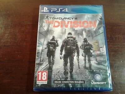 Sony PlayStation 4 ps4 the division  new factory sealed UK  version