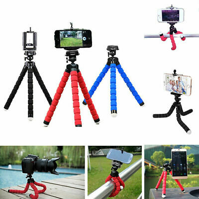 Universal Flexible Stand Octopus Tripod Mount Free Holder For Camera Smart Phone
