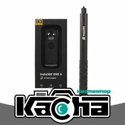 NEUF Insta360 ONE X 360 Action Camera with Invisible Selfie Stick