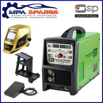 Sip 05770 Hg2500P Tig/Arc Ac/Dc With Pulse Inverter Welder & Accessories Special