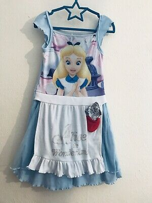 Alice In Wonderland Nightdress Age 6-7 Years Disney At George