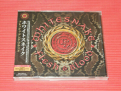 2019 WHITE SNAKE FLESH & BLOOD with Bonus Track  JAPAN CD