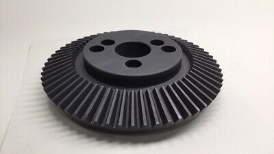 "Angelus 12L823 Used Feed Bevel Gear 60T 7-1/2"" OD x 2-1/2"" Bore x 1-3/4"" Height"