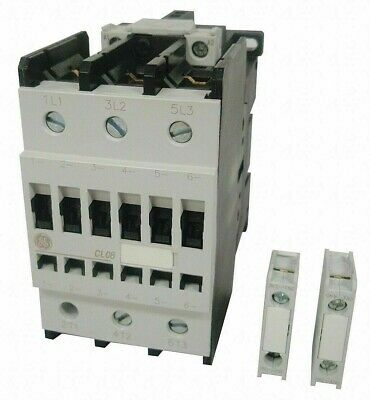 GE CL08A311MJ IEC Magnetic Contactor 3 Pole 120 VAC 104263