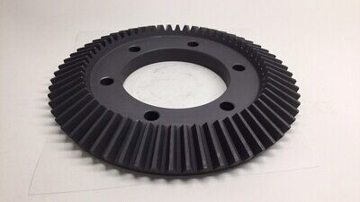 "Angelus 15L823 Used Feed Bevel Gear 60T 10"" OD x 4-1/2"" Bore x 1-1/4"" Height"