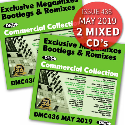 DMC Commercial Collection Issue 436 Bootleg Remix & Megamix DJ Double Music CD