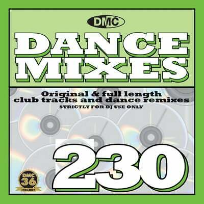 DMC Dance Mixes Issue 230 DJ Club Music CD of Remixed Chart Tracks