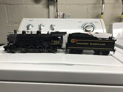Lionel Legacy 6-82181 Western Maryland Scenic #734 2-8-0 Engine W/ Whistle Steam