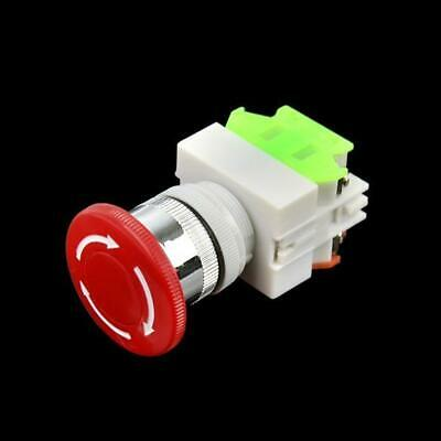 New Emergency Stop Switch Push Button Mushroom PushButton WST 02