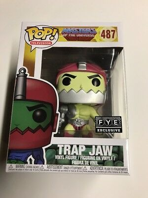 Funko POP IN HAND He-Man Masters of the Universe TRAP JAW FYE Exclusive MOTU