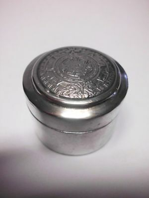 hübsche 925 Silber-Schnupftabakdose / beautiful solid silver snuffbox-pillbox