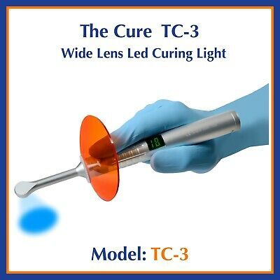 Spring Health The Cure 3 Cordless Wide Lens LED Curing Light Model TC-3