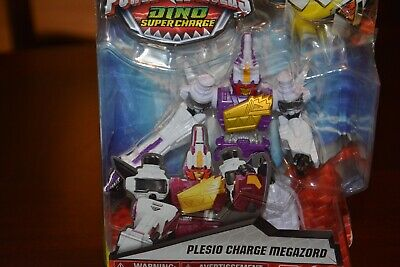 "Power Rangers Dino Super Charge : 5"" EDITION : PLESIO CHARGE MEGAZORD 2016 NISP"