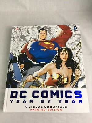 DC Comics Year By Year Visual Chronicle Hardback Updated Edition Xmas Present