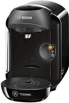 Bosch Tassimo Vivy Hot Drinks and Coffee Machine 1300W Instant Coffee Pods Black