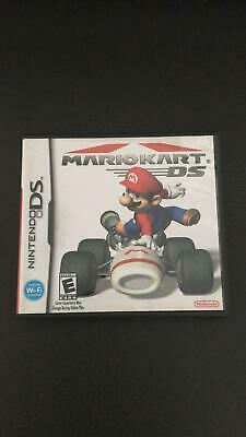 NINTENDO DS MARIO Game Cases and Manual Only No Game