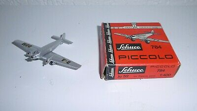 Schuco Piccolo ANCIEN VERITABLE  Junkers Ju 52 avion No. 784 NEUF MINT dinky