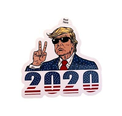President Donald Trump USA 2020 Decal Sticker Car Window Laptop Bumper MAGA 4-PK