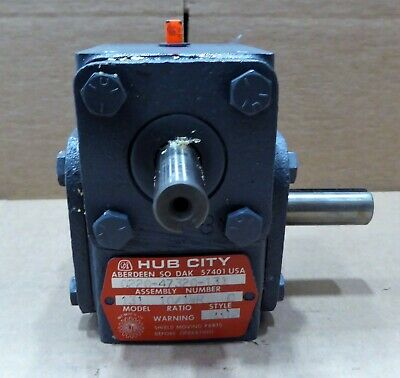 Hub City Worm Right Gear Reducer 10:1 Ratio  0220-47320