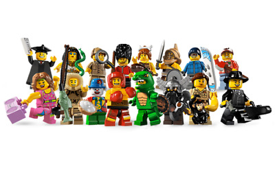 Lego Figurine Minifigure Série 5 - Série 8805 - Choose Minifig - Au choix