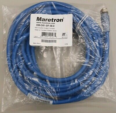 MARETRON MID DOUBLE-ENDED  CORDSET-0.5M GRAY