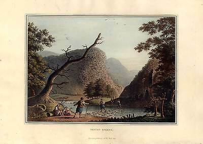 MOUNT BALKAN. Aquatinta Bowyer-L. Mayer 1810