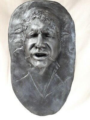 Han Solo life size head bust wall plaque